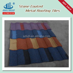 New Design Colorful Stone Chip Coated Metal Roof Tile