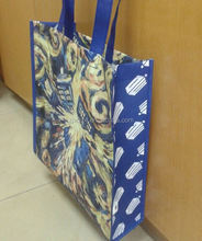 cheap fashion non woven bags with lamination for promotion/ new design pp non woven bag laminated/ non woven carpet bag
