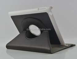 Genuine leather concise flip fashionable leather case for ipad mini