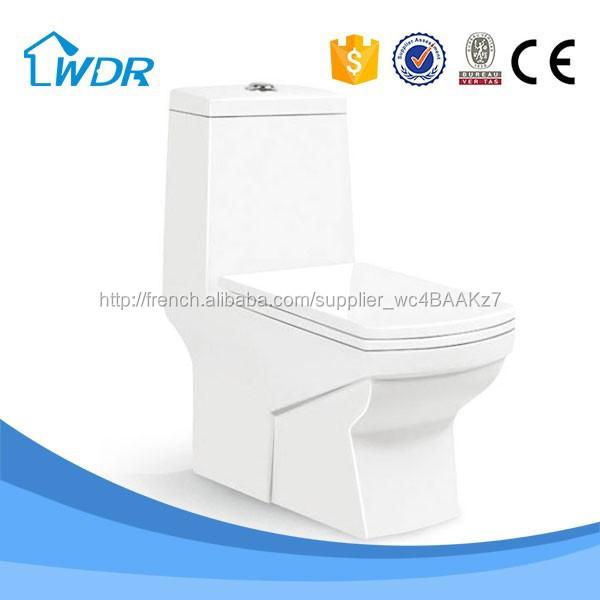 Chine usine d'eau de surface solide en céramique puissance encastré toilettes