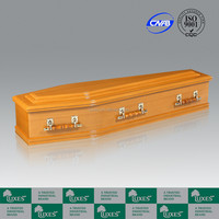LUXES Australian New Design Funeral Caskets MDF Coffins With Coffin Handles