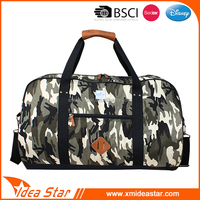 Camouflage good quality wholesale leisure fashion design your own sport bag