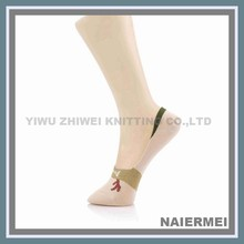 free sample cartoon woman wholesale cheap ankle sock