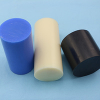 Engineering plastics 10mm white natrual MC nylon plastic rod nylon rod