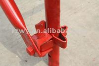 Constuction formwork kwik-stage scaffolding trestle parts