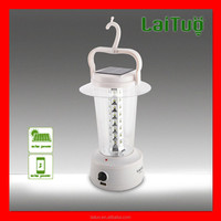 hot new product for 2015 2w small portable rechargeable led solar camping lanterns