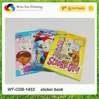 new design fashion and funny children sticker book