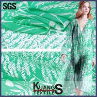 digital printing wholesale accordion pleats chiffon fabric