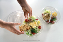 Plastic Food Packaging Containers Fruit Salad Packaging Container