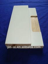 fingerjoint solid hinge wood decorative door frame