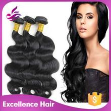 100% human hair 3 bundles red brazilian hair weave