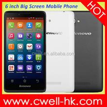 "Original Lenovo A889 Quad Core MTK6582 Android 4.2 6.0"" 1GB RAM 8GB ROM 8MP Dual Sim Card, low price china mobile phone"