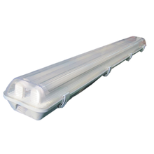 Parking garages weatherproof led light fitting with twin tube