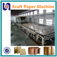 GM-3200mm widely used waste paper recycling kraft paper making machine price