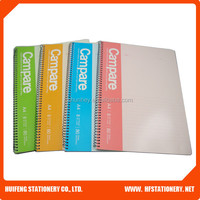 A4 size notebook office A4 spiral notebook