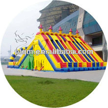 Exciting multi-channels Inflatable Slide/inflatable sport game