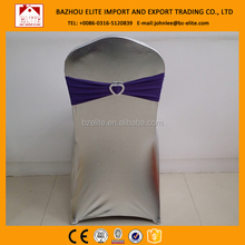 factory sale spandex chair covers with band cheap chair cover for event decoration