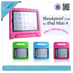 Kids Shockproof EVA Foam Handle Case for iPad Mini 4 EVA tablet case
