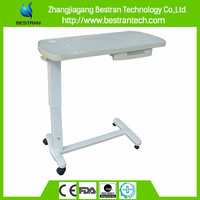BT-AT009 top sell hospital bed table with drawer
