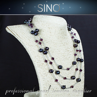 N0.5 wholesale jewelry 2015 fashion necklace pearl chinese pearl necklace freshwater pearl necklace