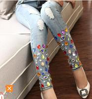 Latest design hot sale casual fashion OEM made own customize wholesale high quality men jeans 100% Cotton Denim women Jeans