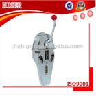 Borboleta cabeça/uma única alavanca de controle de motores marítimos/barco peça do motor