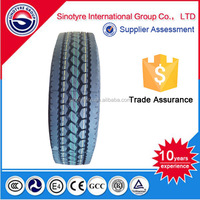 High quality Sunote brand Trade Assurance heavy duty truck tyre/tire 11R22.5 suitable for minning