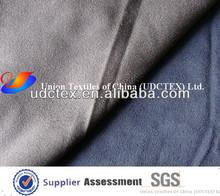 Faux suede tela de tapicería/decoración de telas de gamuza