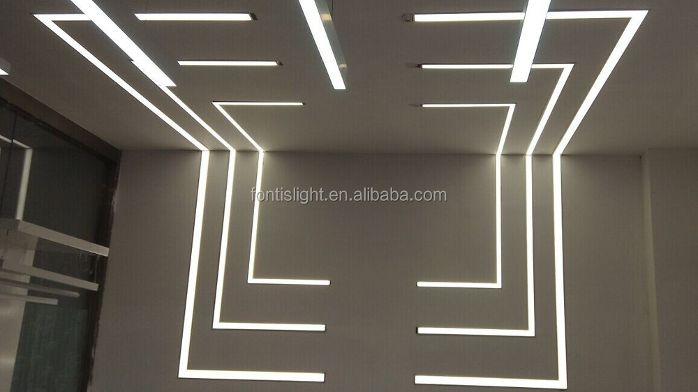 Outdoor Indoor Floor Extrusion Led Aluminum Profile For