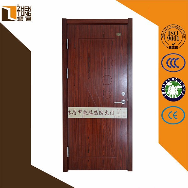 China Cheap Interior Fire Rated Timber Veneer Solid Wood
