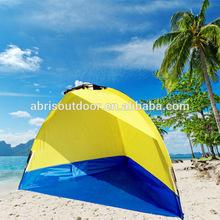 playa de poliéster sombra carpa carpa portátil de playa para la venta