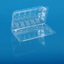 transparent disposable plastic food cake box container