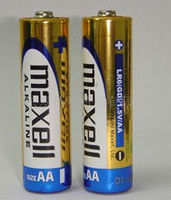 Maxell 1.5V LR6/AA/AM-3 alkaline battery for home use