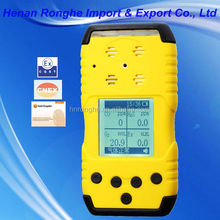Portable four in one multi gas detector for industry