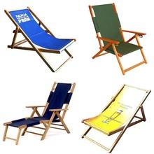 Factory customized cheap folding reclining beach chair