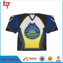 high quality custom international blank ice hockey uniform/jersey