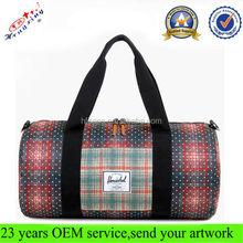 High Quality Mens Gym Cheap Canvas Custom Sport Duffel Bag