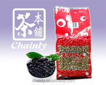 Taiwan High Quality Bubble Tea Material Black Tapioca Pearl