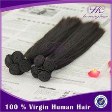 Silky straight natural brazlian virgin remy hair
