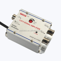 seebest 2 WAY INDOOR CATV AMPLIFIER GAIN 20dB cable TV amplifier 2 outputs