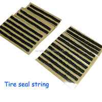 "Tire puncture seal 4"" Self vulcanizing Tubeless Repair Seal Strings rubber strip Inserts"