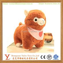 OEM facyory direct sale&high quality sweet plush stuffed animal toys alpaca meet EN71&ASTM&3C