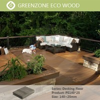 A large number of modern pure and fresh and elegant decking, convenient and quick installation plastic wood composite flooring