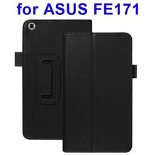 Flip Leather Smart Cover for ASUS Fonepad(FE171) Case