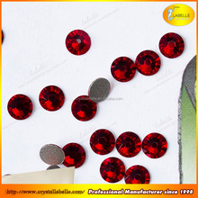 Red faced hot fix rhinestone mobile phone backpack beads