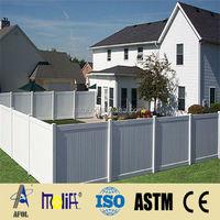 AFOL High Quality Fence, PVC Fence, Vinly Fence