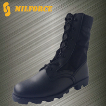 ISO standard jungle men black cheap price military army combat boots
