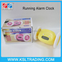 New Product Wheel Rolling Snooze Funny Running Alarm Clock