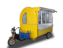 Mobile fast food hot dog car trade sell car With CE