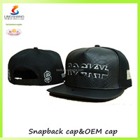 Customized snapback hats with 5 pannel baseball caps and hats for men